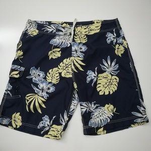 American Eagle Hawaiian Board Shorts Size 38